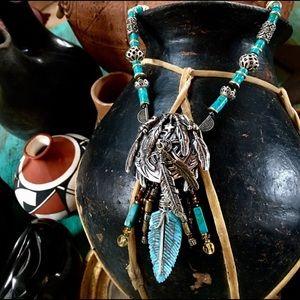 Unisex F. Gomez Sterling Dreamcatcher Necklace